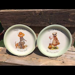 Holly Hobby plates